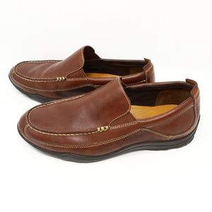 Cole Haan Brown Leather Casual Loafer Mens US 9W
